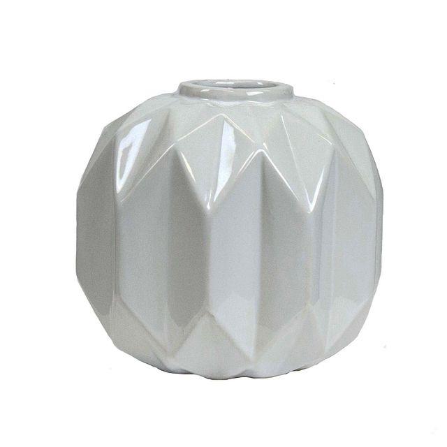 Cliona White Medium Vase (0)
