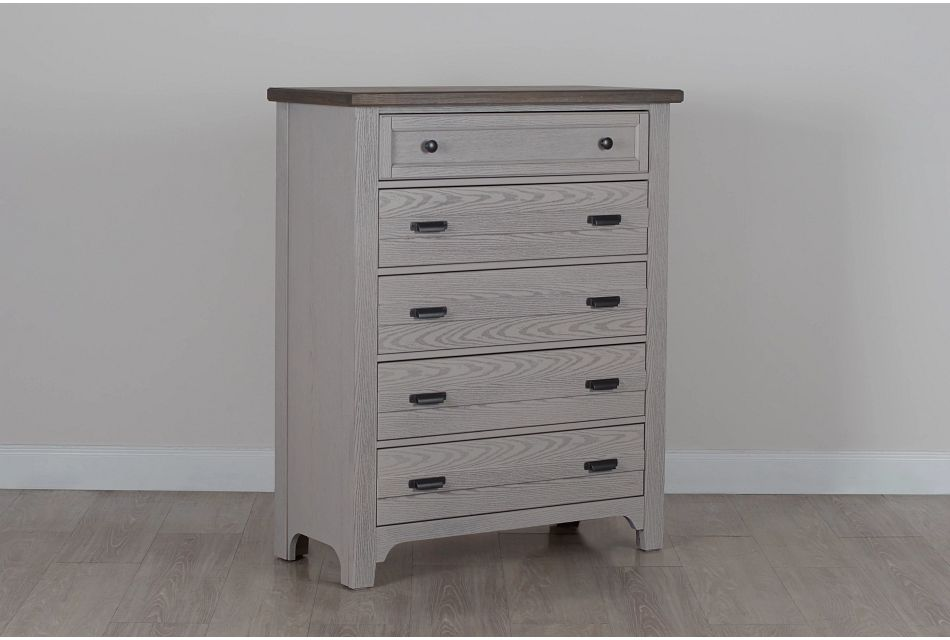 Bungalow Two-tone 5-drawer Chest