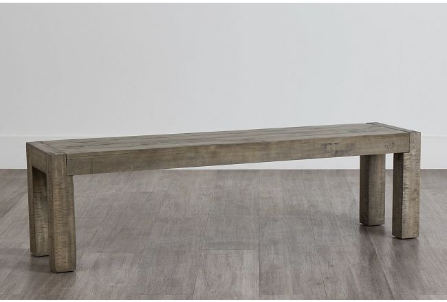 Seattle Gray Dining Bench