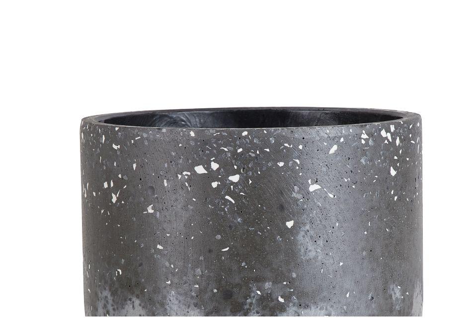 Lilo Black Medium Planter,  (2)