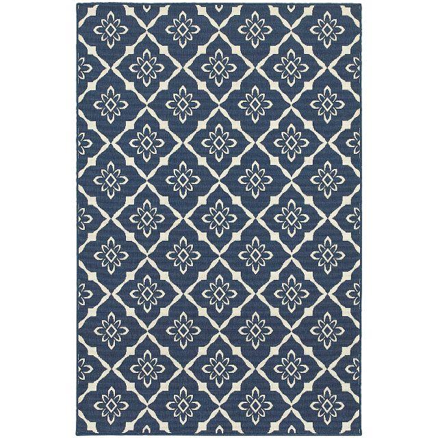 Meredith Dark Blue Indoor/outdoor 8x10 Area Rug (0)