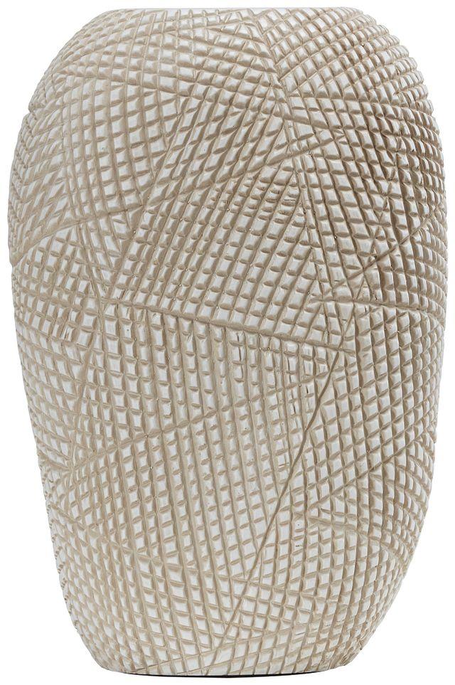 Ava Light Beige Vase (0)