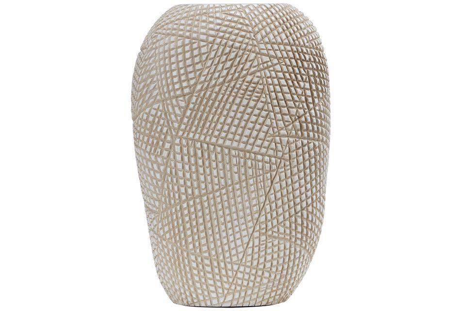 Ava Light Beige Vase