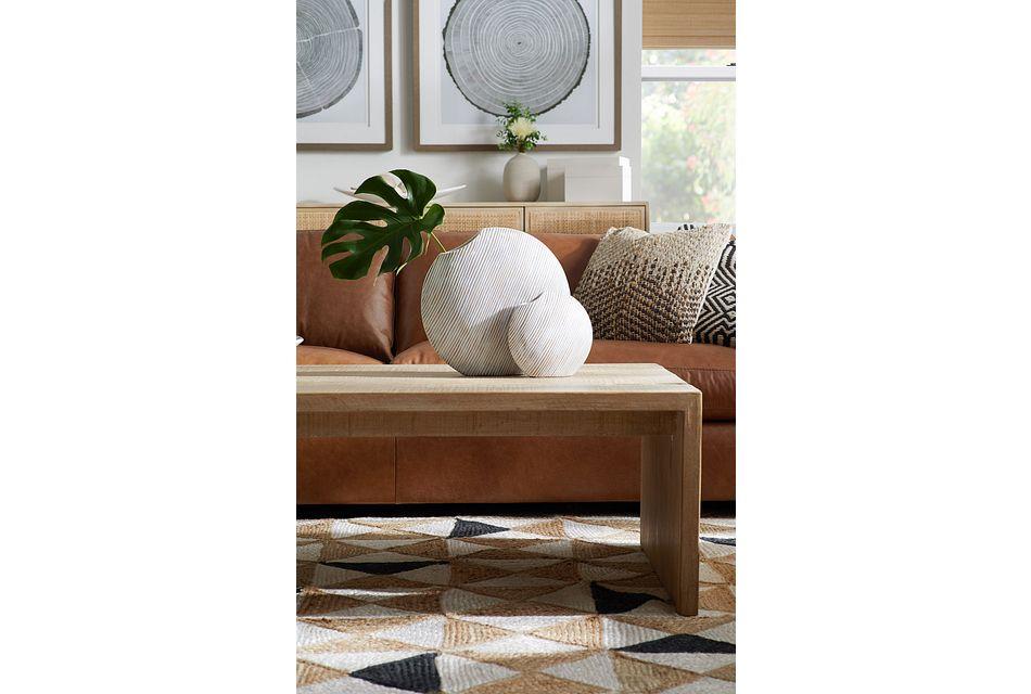 Merwin Light Tone Rectangular Coffee Table