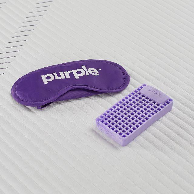 Purple Hybrid Adjustable Mattress Set