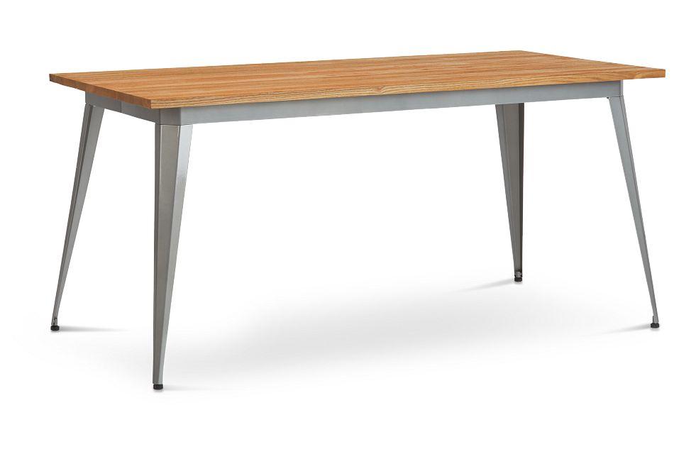 Huntley Light Tone Rectangular Table,  (2)
