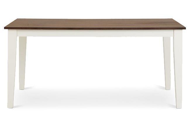 Sumter White Rectangular Table