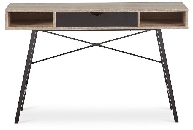 Dallas Black Two-tone Desk
