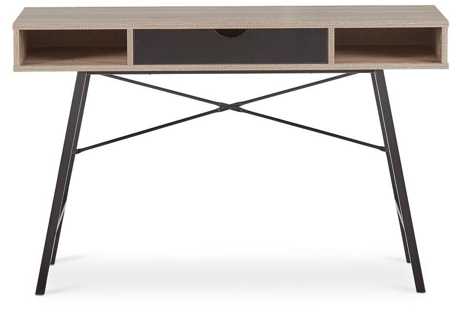 Dallas Black Two-tone Desk,  (1)