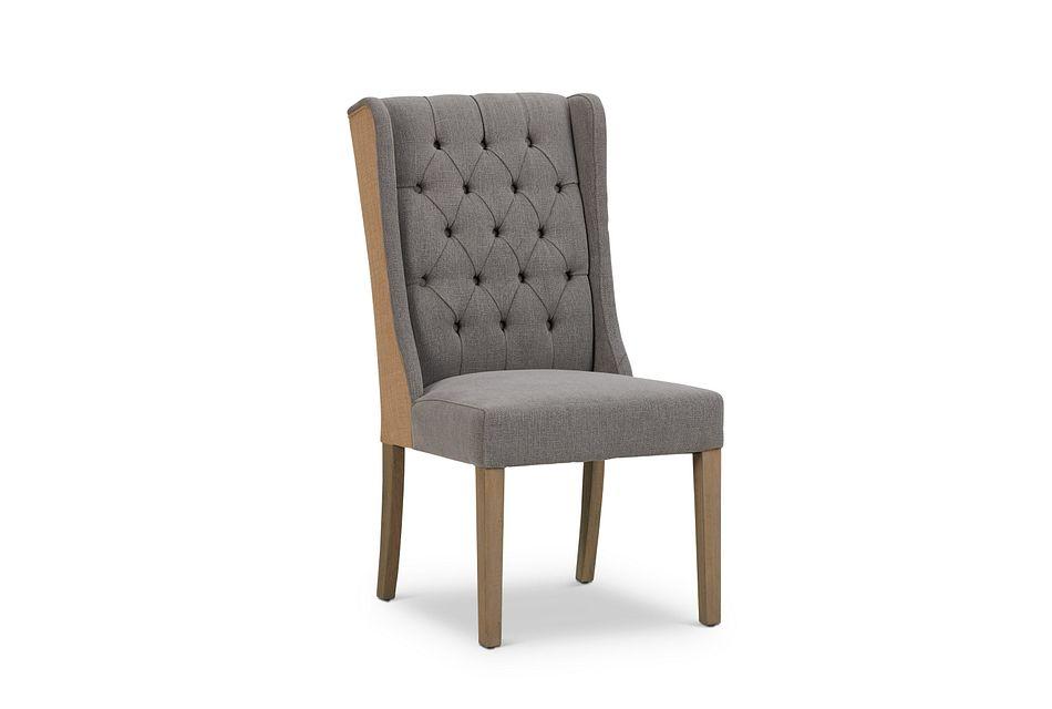 Ravi Gray Upholstered Side Chair