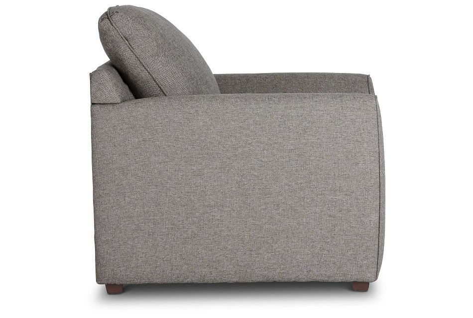 Asheville Brown Fabric Chair,  (2)