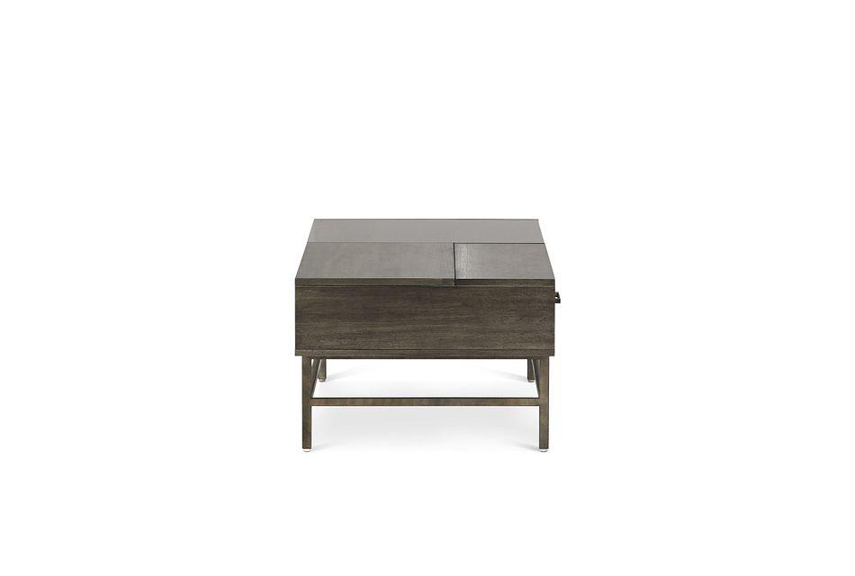 Fulton Dark Tone Wood Lift Coffee Table