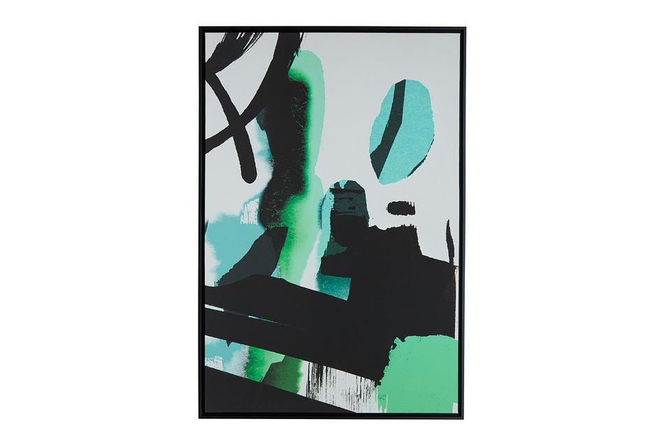 Pablo Green Framed Wall Art