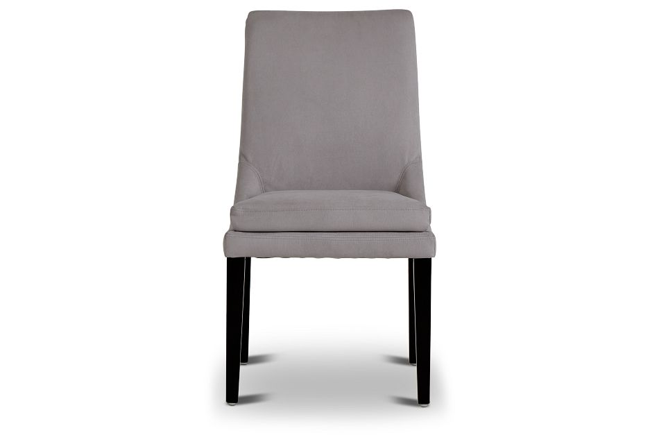 Tito Light Gray Upholstered Side Chair,  (3)