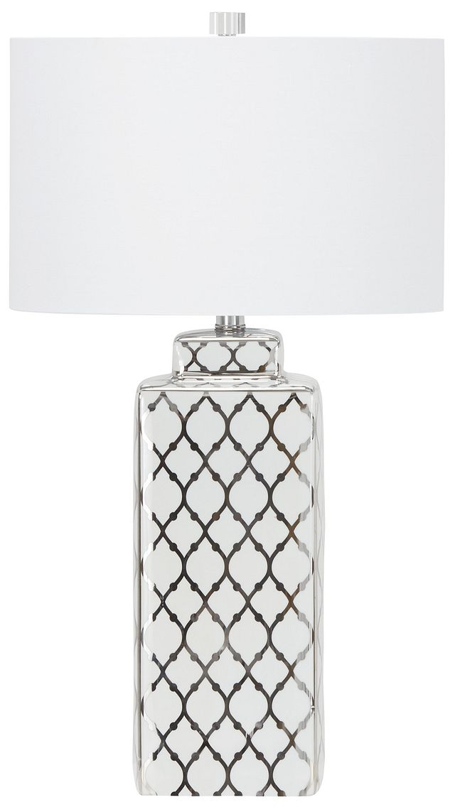 Sydney Silver Table Lamp (0)