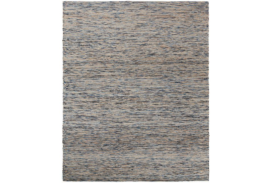 Ropers Blue 8x10 Area Rug