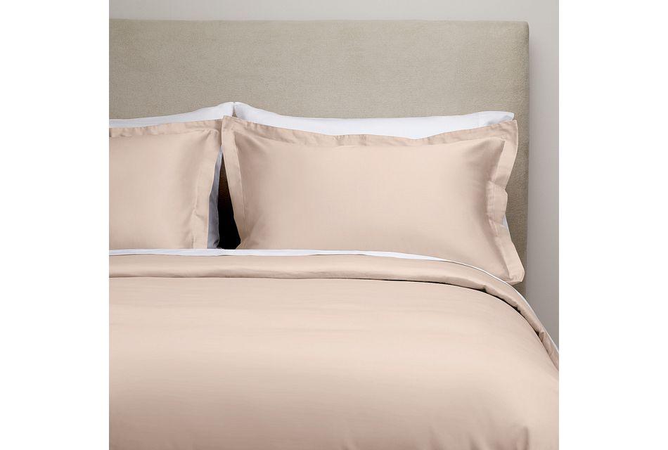 Cotton Sateen Pink 300 Thread Duvet Set