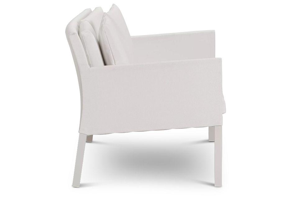 Lisbon2 White Sofa,  (2)