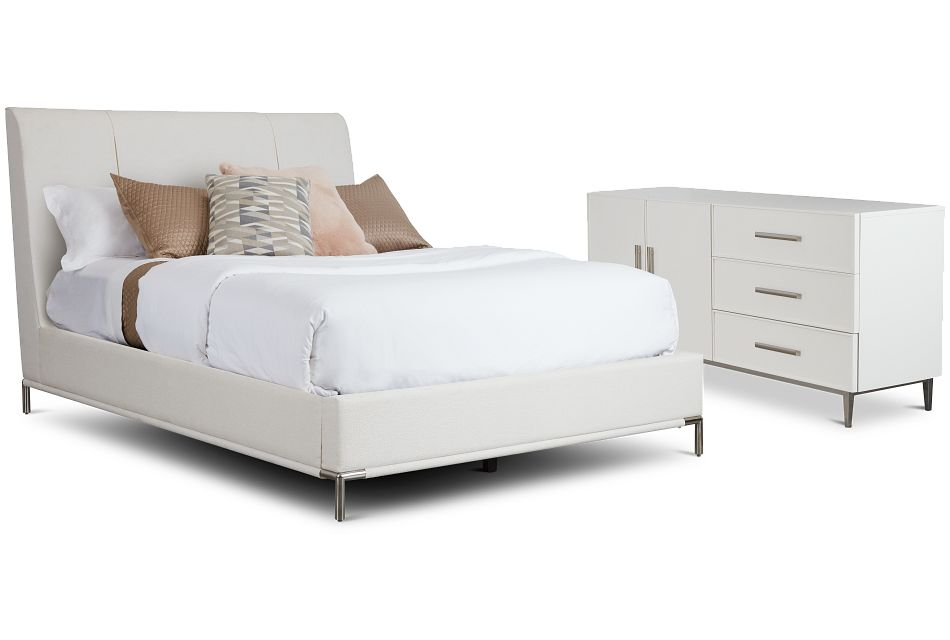Glacier White Uph Bedroom
