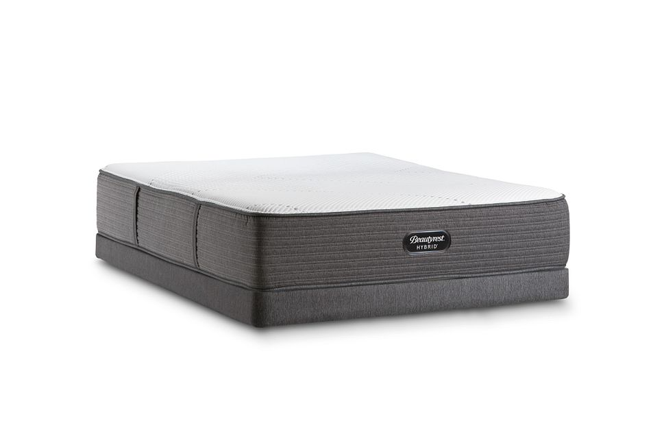 Beautyrest Brx1000-ip Medium Hybrid Low-profile Mattress Set