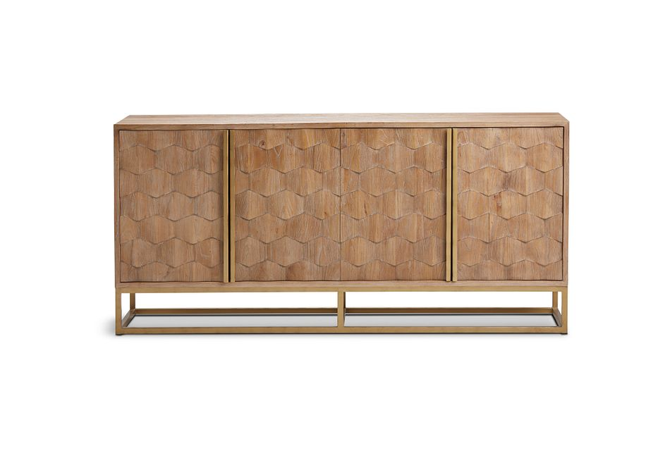 Trento Light Brown Credenza