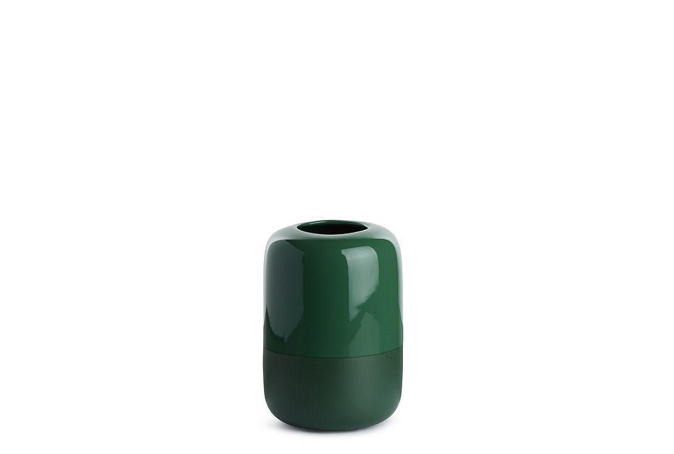 Ellis Small Teal Vase
