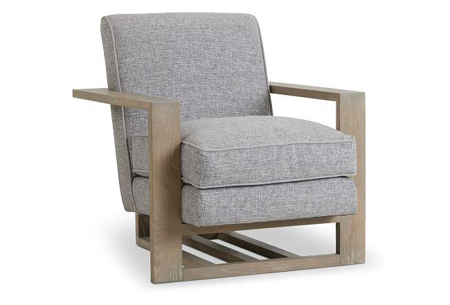 Teague Gray Accent Chair