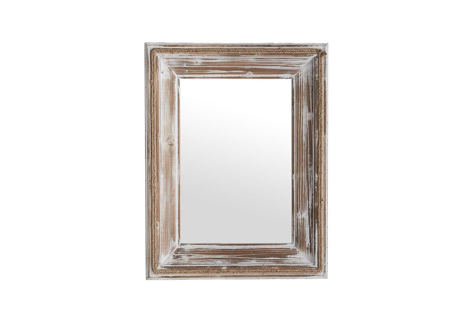 Colton Whitewash Mirror