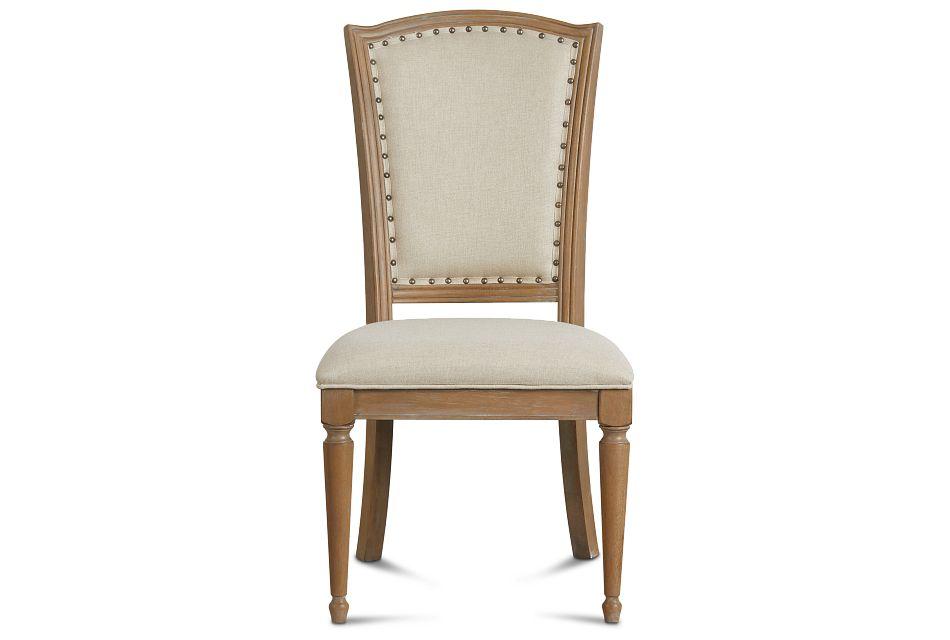 Haddie Light Tone Wood Side Chair,  (3)