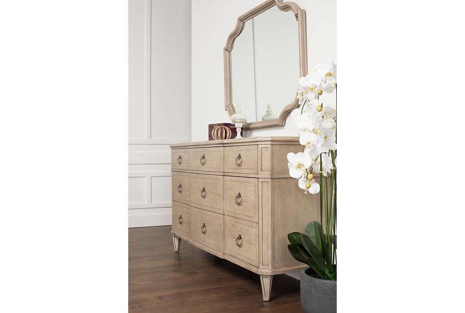 Marquesa Gray Wood Dresser