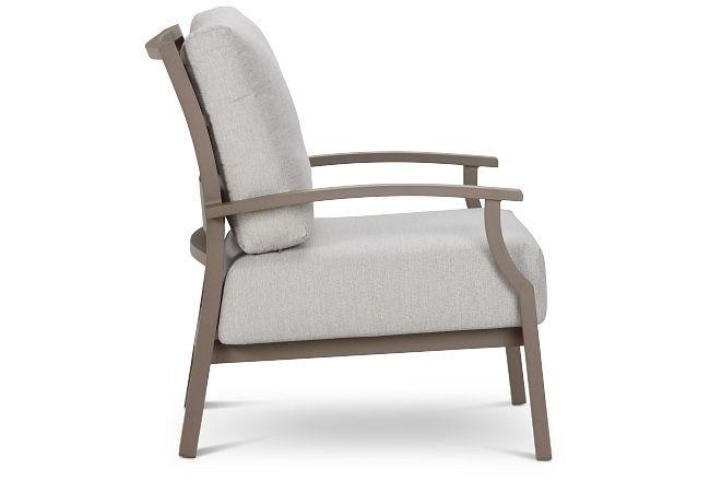 Raleigh Gray Aluminum Chair