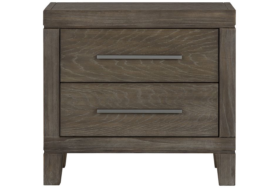 Bravo Dark Tone 2-drawer Nightstand