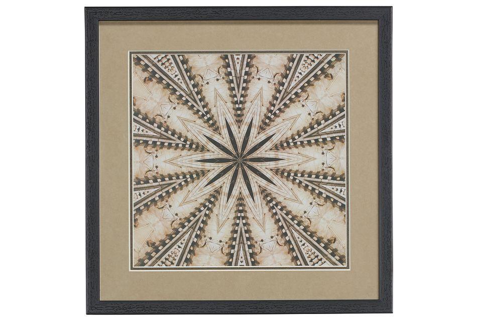 Tawny Brown Framed Wall Art