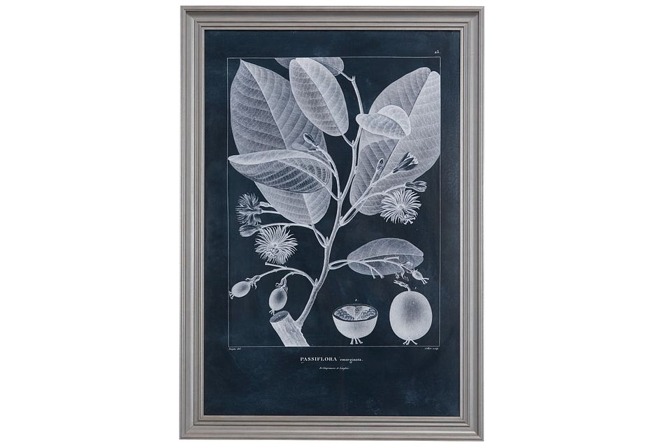 Sap Dark Blue Framed Wall Art