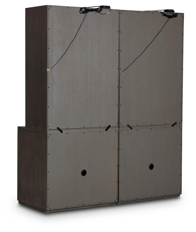 Highline Dark Tone Door Bookcase