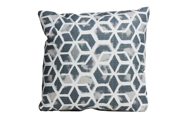 "Celtic Gray 18"" Indoor/outdoor Accent Pillow"
