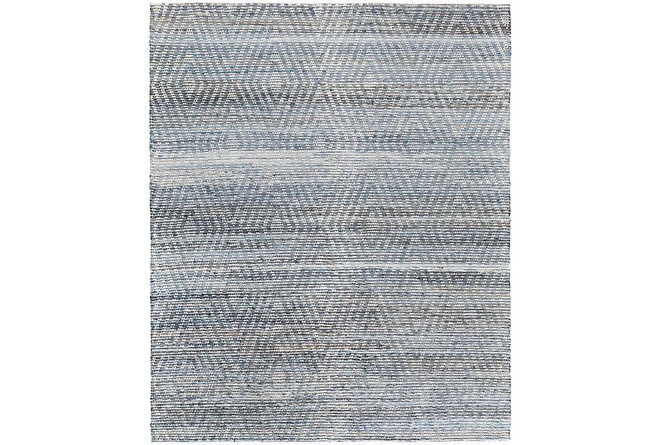 Marlin Blue 8x10 Area Rug