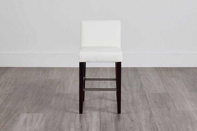 "Cane Whitemicro 24"" Upholstered Barstool (0)"