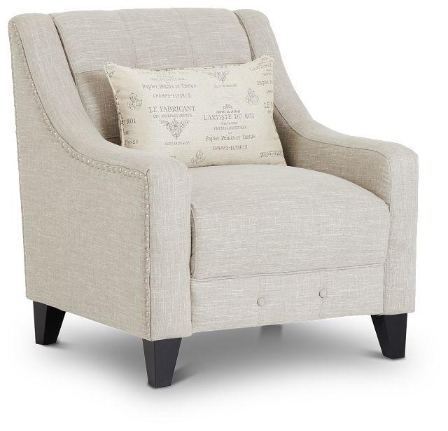Hutton3 Light Taupe Linen Chair (0)