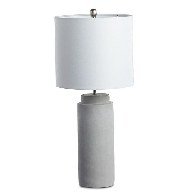 Aya Silver Table Lamp (2)