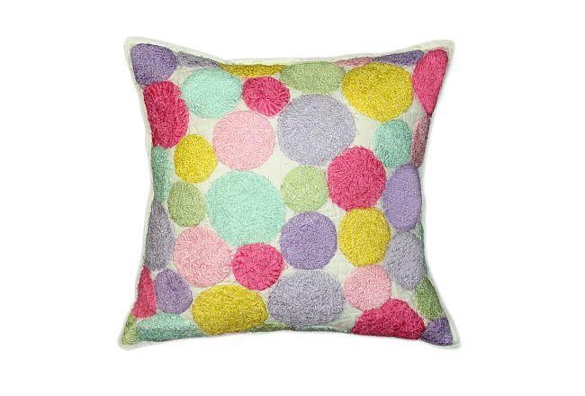 Dottie Multicolored Accent Pillow