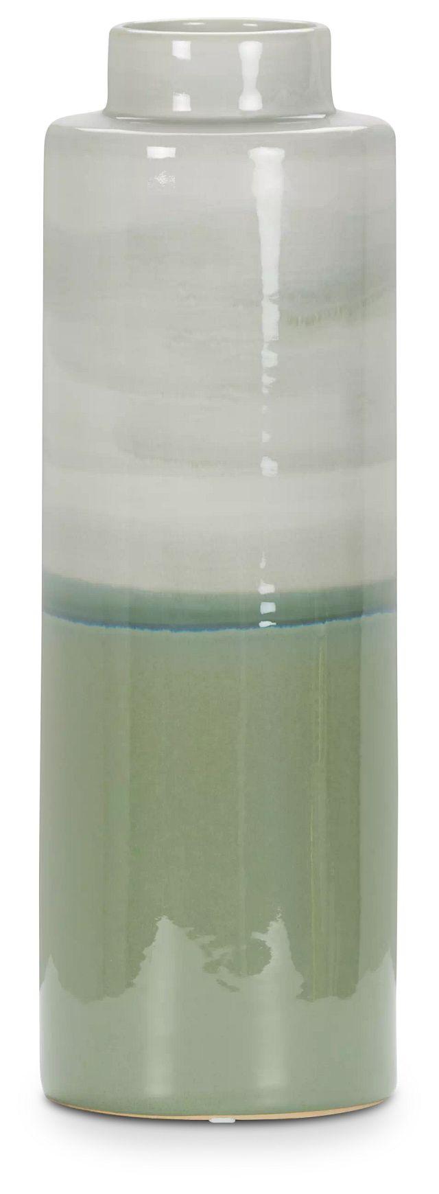 Mazu Green Small Jar (1)
