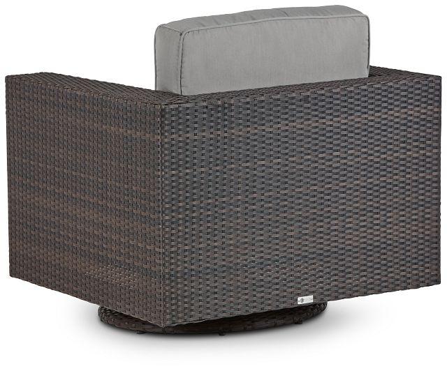 Fina Gray Swivel Chair (3)
