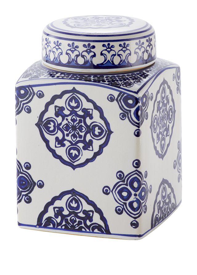 Dirk Dark Blue Medium Jar (1)