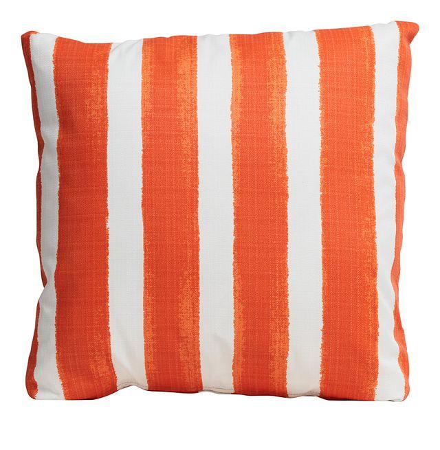 """Nico Orange 20"""" Indoor/outdoor Accent Pillow (0)"""
