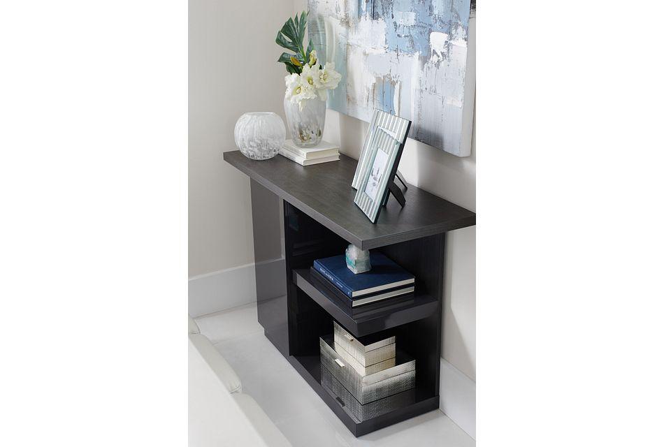 Caelan Dark Tone  Sofa Table,  (1)