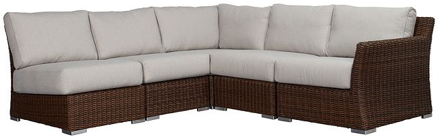 Southport Gray Right 5-piece Modular Sectional (0)