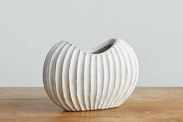Wes White Vase (0)