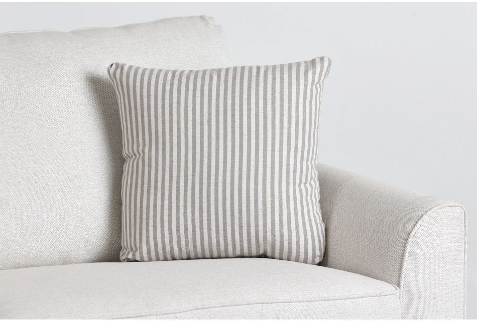 """Scout Gray Fabric 18"""" Accent Pillow,  (0)"""