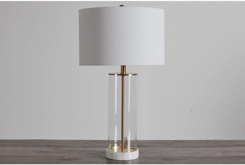 Lunan Gold Table Lamp,  (0)